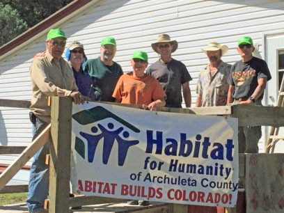 Habitat for Humanity of Archuleta County, CO Pagosa Springs, CO September 2017
